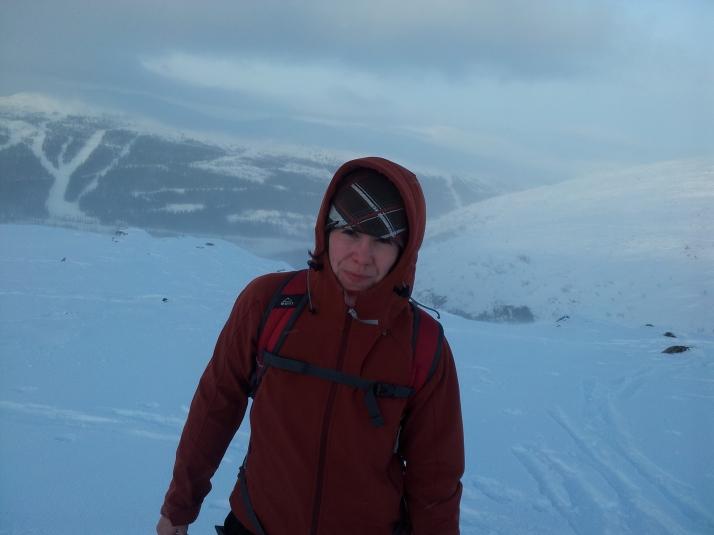 I vintras var första gången som jag gjorde en topptur på skidor. Blåsigt, krävande och grymt roligt. Drommen i Bydalsfjällen blev en lagom första bestigning.