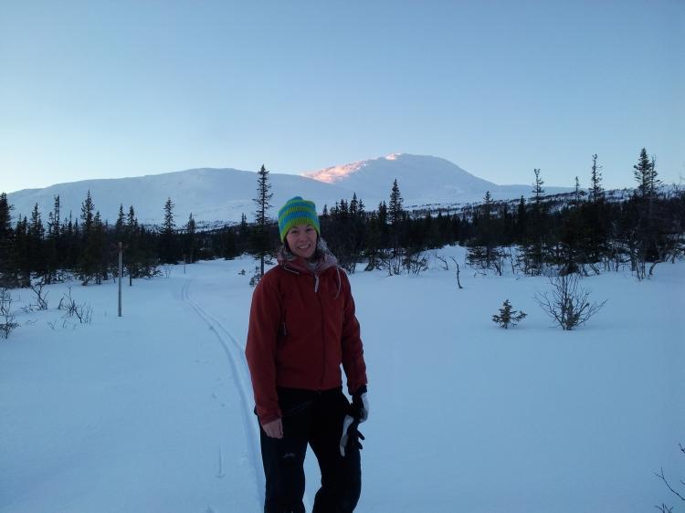 En av årets kallaste turer. Jag och en god vän skidade Fäbodturen, ospårat och kallt som tusan. Tur att vi åt en god och stadig lunch på Bergsstugan, Fröå innan vi skidade iväg.