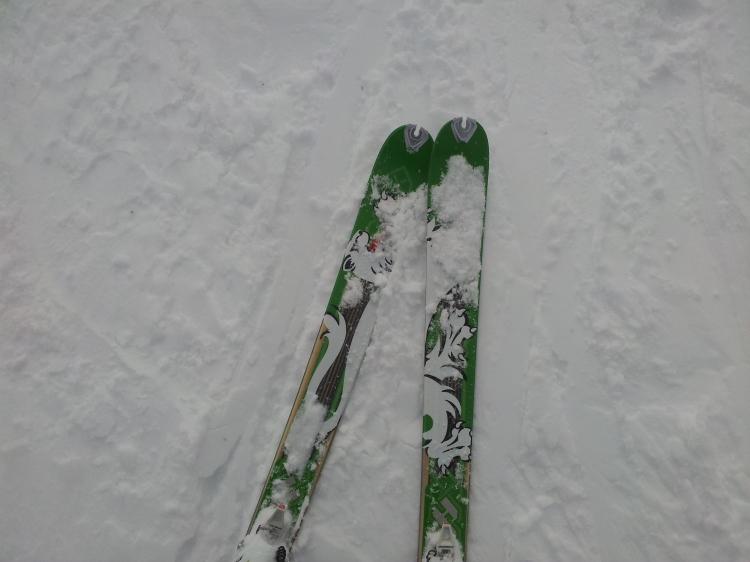 Mina grymma skidor, Seven Summit från Dynafit.