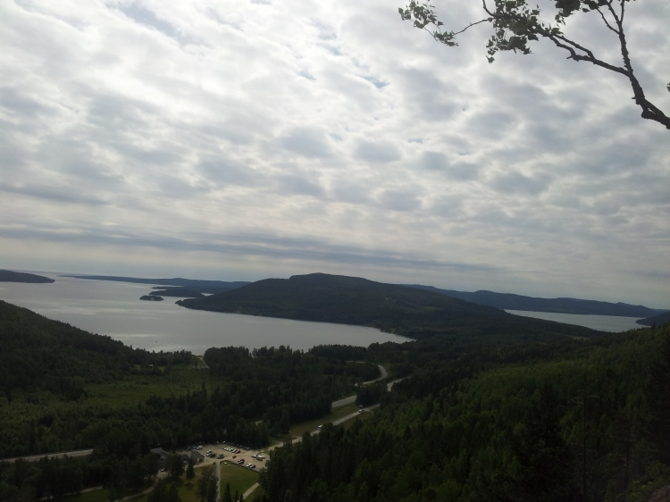 Utsikt över Höga Kusten.