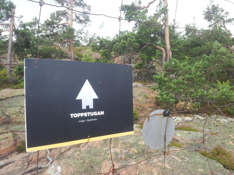 Längst upp på Skuleberget finns Toppstugan. Här kan man njuta av en välförtjänt fika.
