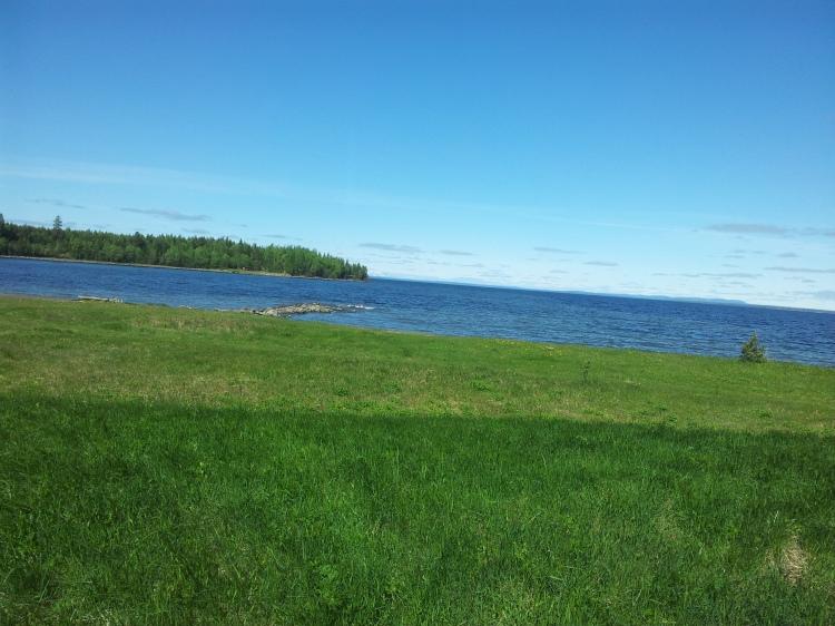Den icke avstängda delen  av Bynäset, Frösön. Hit kommer det bli flera ridturer i sommar.