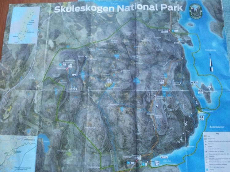 Skuleskogens naturreservat bjuder på massa olika vandringsleder. Det blir spännande att se en helt ny vandiringsmiljö.
