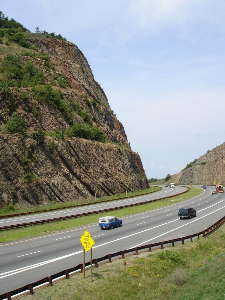 Roadtrip från Washington D.C till Pittsburgh. Den här vägen gillade jag skarpt att köra.